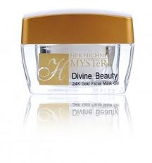 24K Gold Facial Mask Gel DIVINE BEAUTY